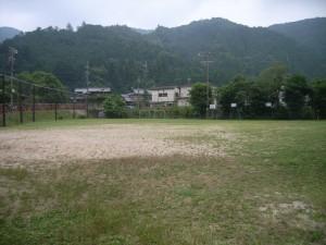 京都市立八瀬小学校運動場修繕工事