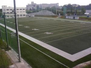立命館大学BKCグリーンフィールド人工芝メンテナンス