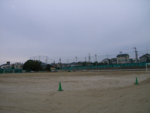 京都学園中学高等学校北グラウンド整備工事