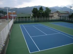 麒麟倶楽部テニスコート改修工事