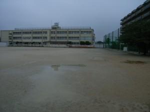 宇治市立伊勢田小学校流出抑制施設設置工事