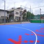 京都学園中学校高等学校フットサルコート整備工事