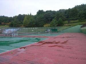 茨木市忍頂寺スポーツ公園庭球場改修工事