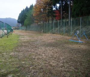 京都府立北桑田高校グラウンド改修