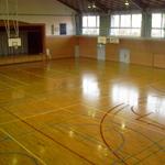 西中学体育館
