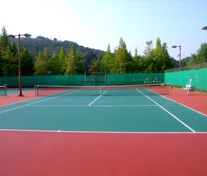 立命館大学BKCテニスコート完成
