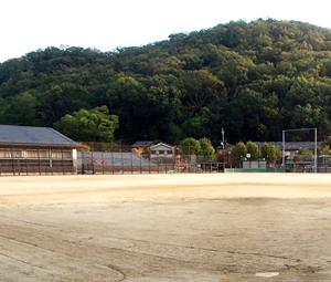 宝が池公園少年スポーツ広場グラウンド施工前