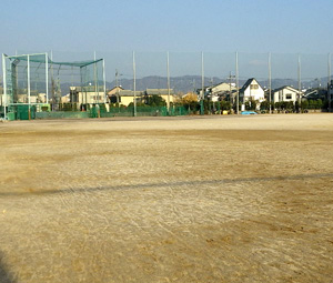 府立城南菱創高等学校グラウンド施工前