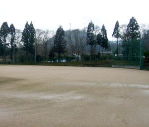 丹波自然運動公園グラウンド施工前