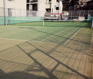 任天堂宇治小倉工場テニスコート完成