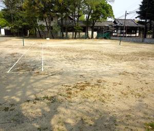 西本願寺テニスコート施工前