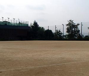 京都橘中学校・高等学校グラウンド施工前