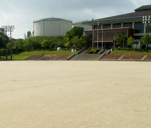 総合公園グラウンド施工前