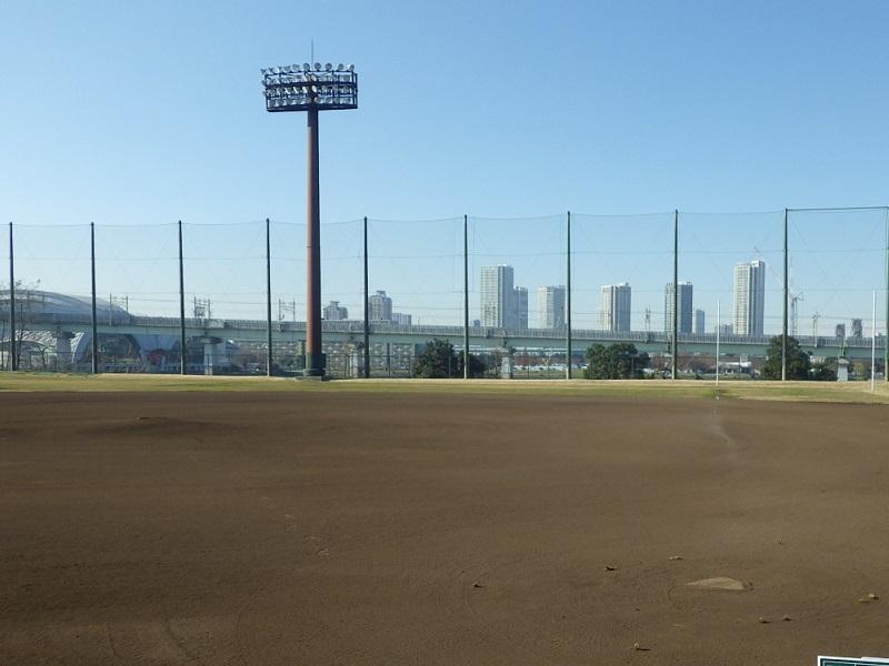 江東区夢の島野球場